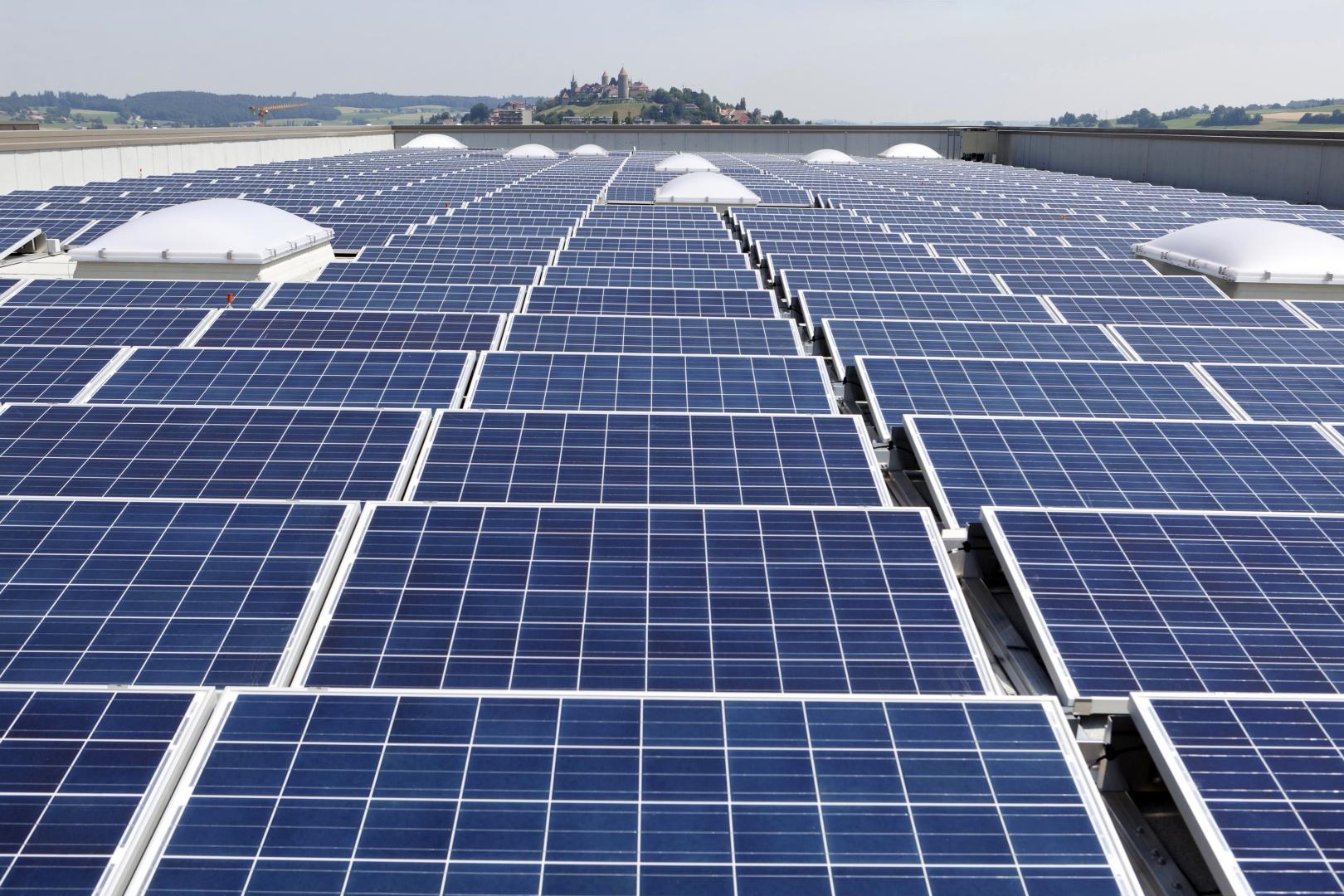 Photovoltaik-Panelen © Nicolas Repond - Nespresso