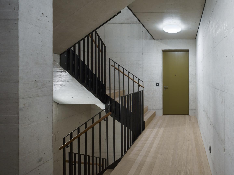 Neubau wohnhaus aescherstrasse 12 basel schweizer - Architekten basel ...