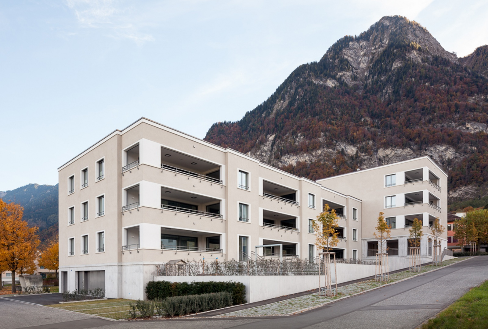 Neubau mehrfamilienhaus lehenwies documentation suisse for Mehrfamilienhaus neubau