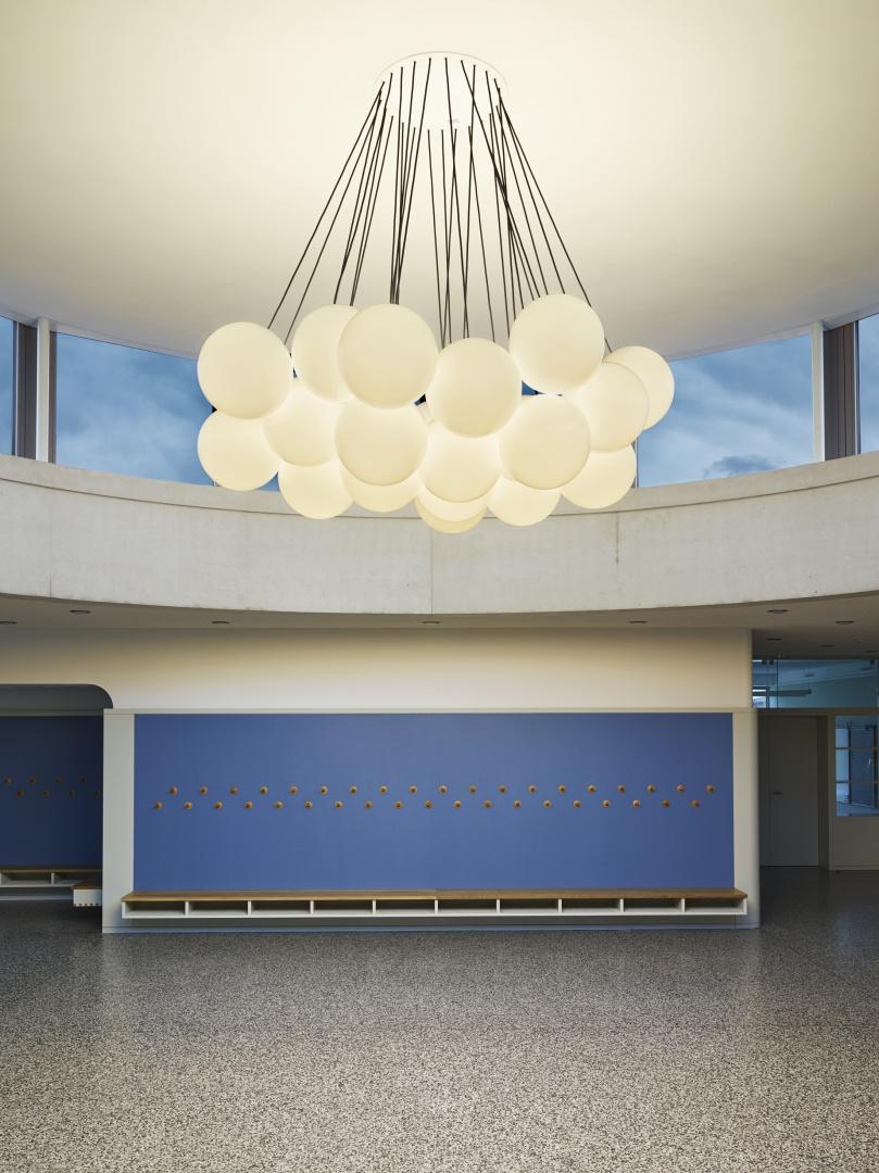 Luminaire, rotonde © Michael Fritschi, foto-werk gmbh,  Klingelbergstrasse 97, 4056 Basel