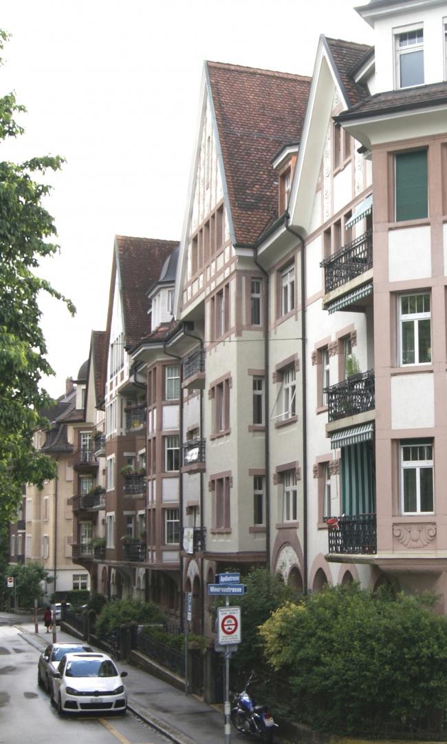 Strassenfassade  © Staffelbach Meier Architekten