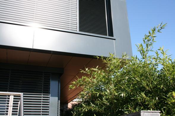 Détail façade ouest