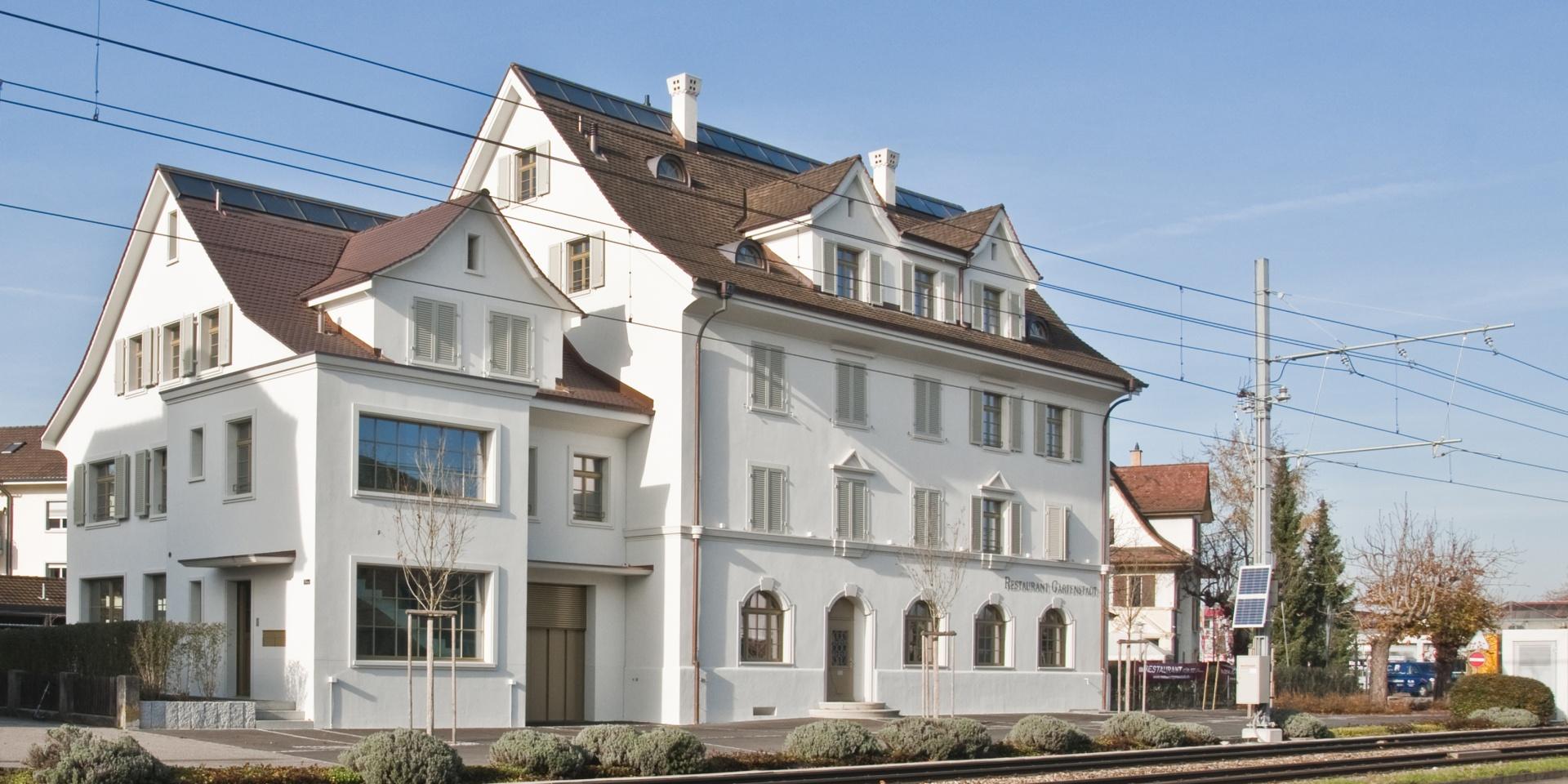 Gartenstadt_Anbau © Architektur Rolf Stalder AG