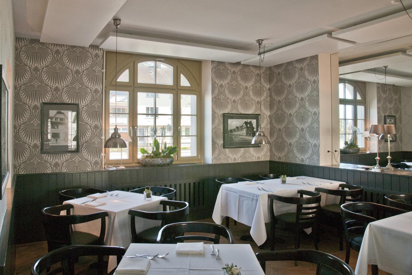 Gartenstadt_Restaurant © Architektur Rolf Stalder AG