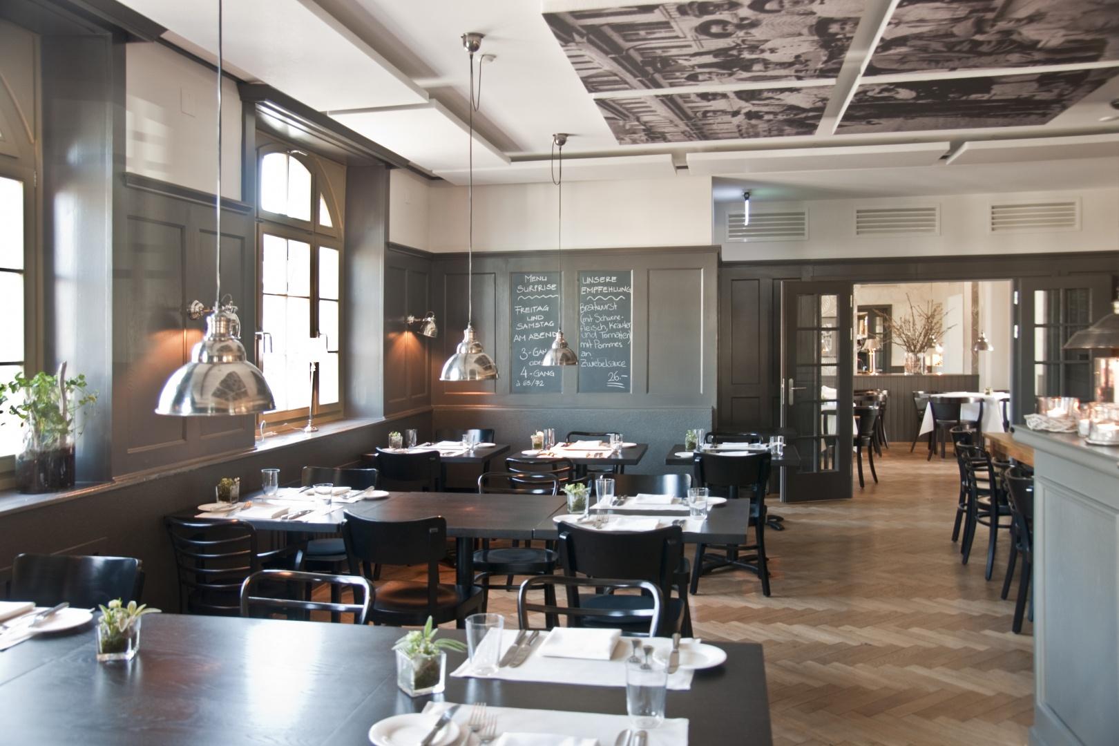 Gartenstadt_Brasserie © Architektur Rolf Stalder AG