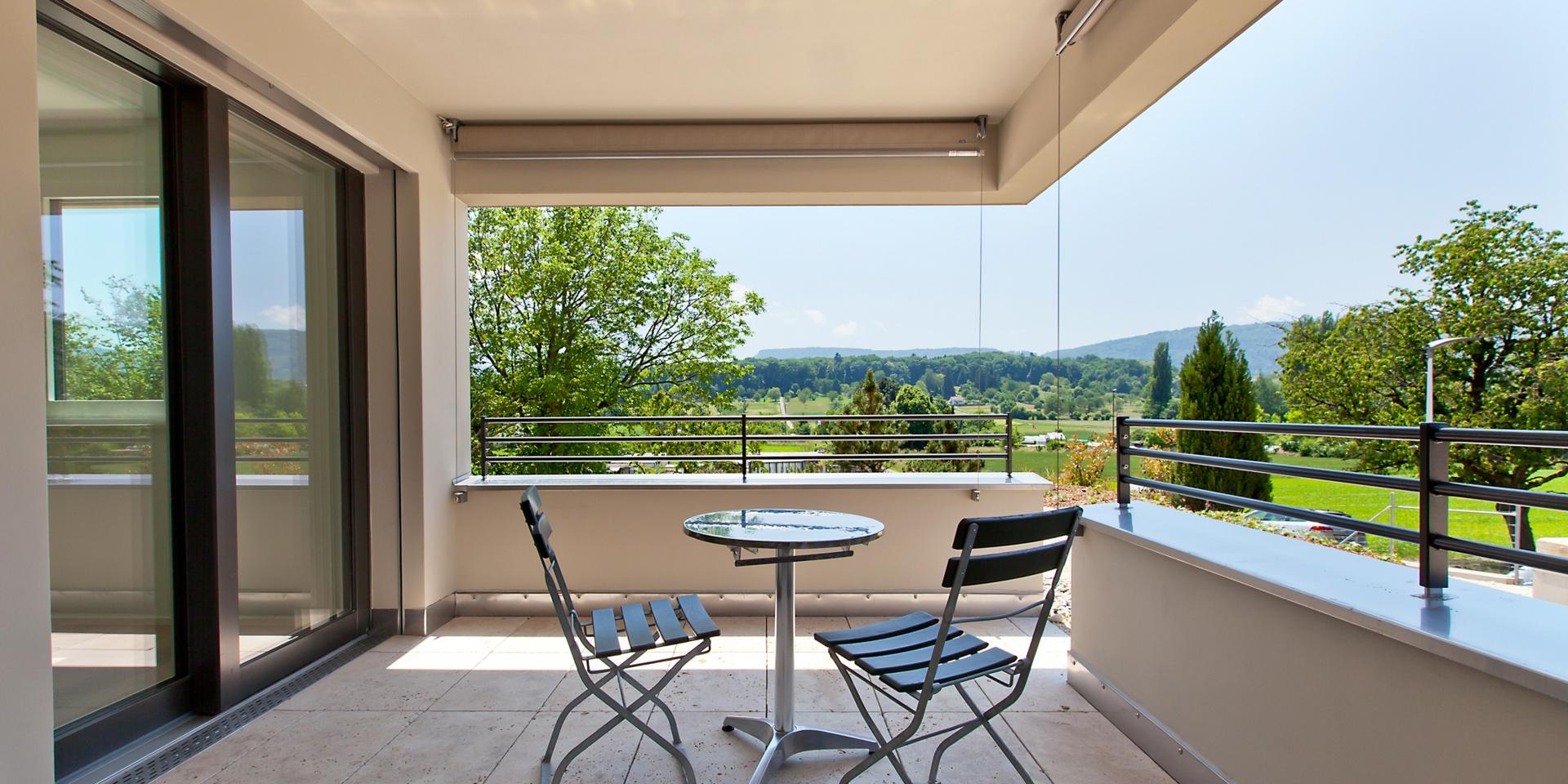 Rebberg_Terrasse  © Architektur Rolf Stalder AG - Christian Roth