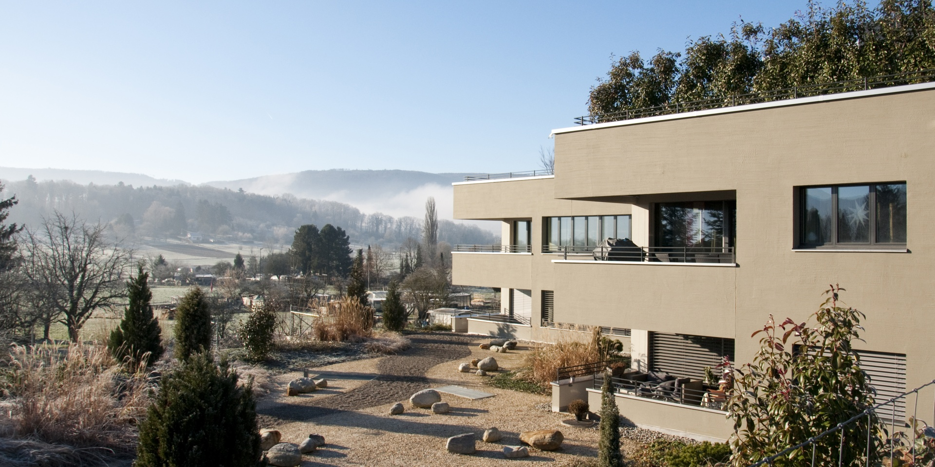 Rebberg_Gartengestaltung  © Architektur Rolf Stalder AG