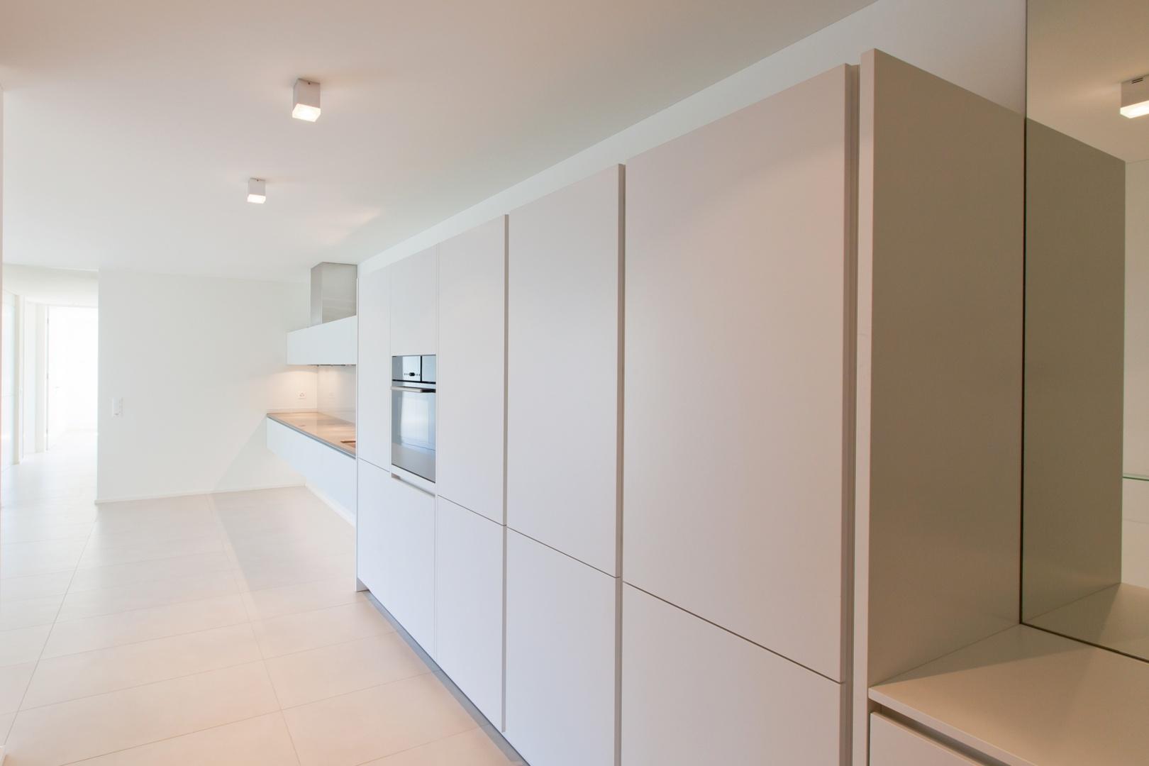 Rebberg_Kueche_Garderobe_3Z  © Architektur Rolf Stalder AG - Christian Roth