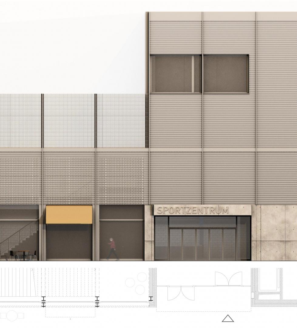 Fassadenansicht  © Giancarlo Ceriani