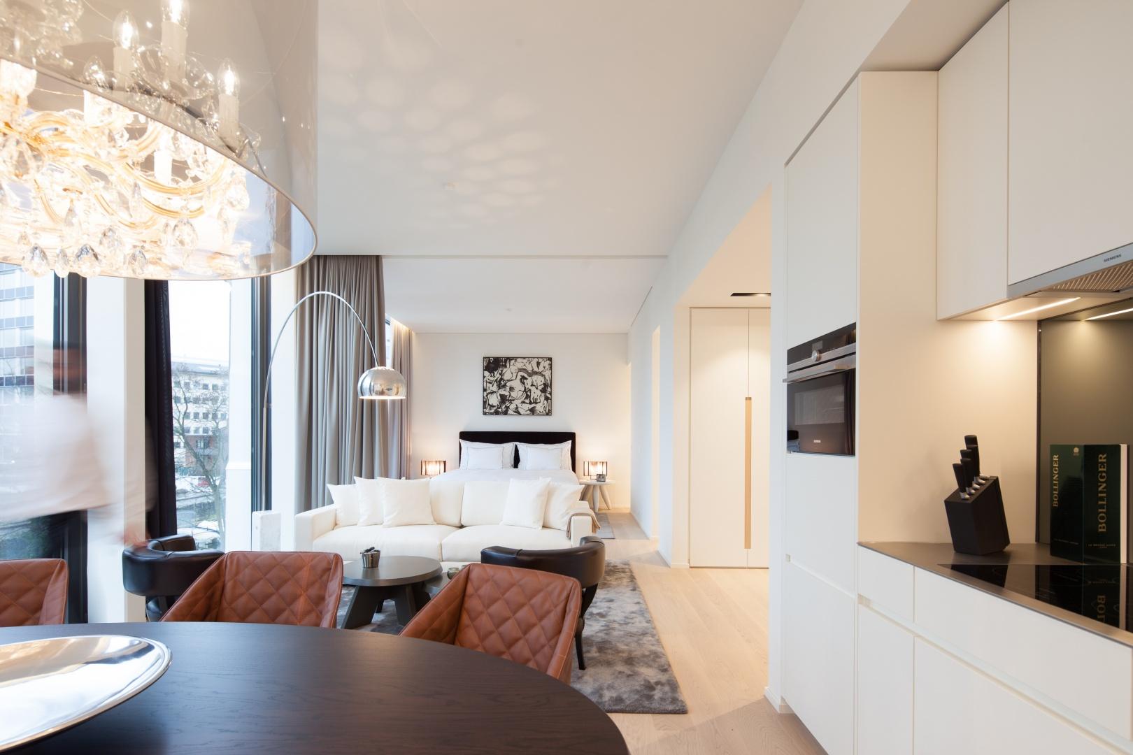 Möblierte Wohnung A © Kalfopoulos Architekten AG