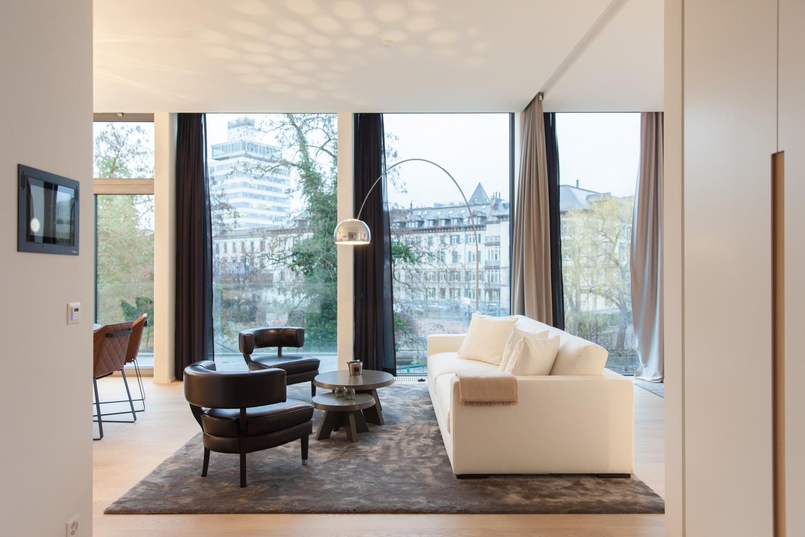 Möblierte Wohnung B © Kalfopoulos Architekten AG