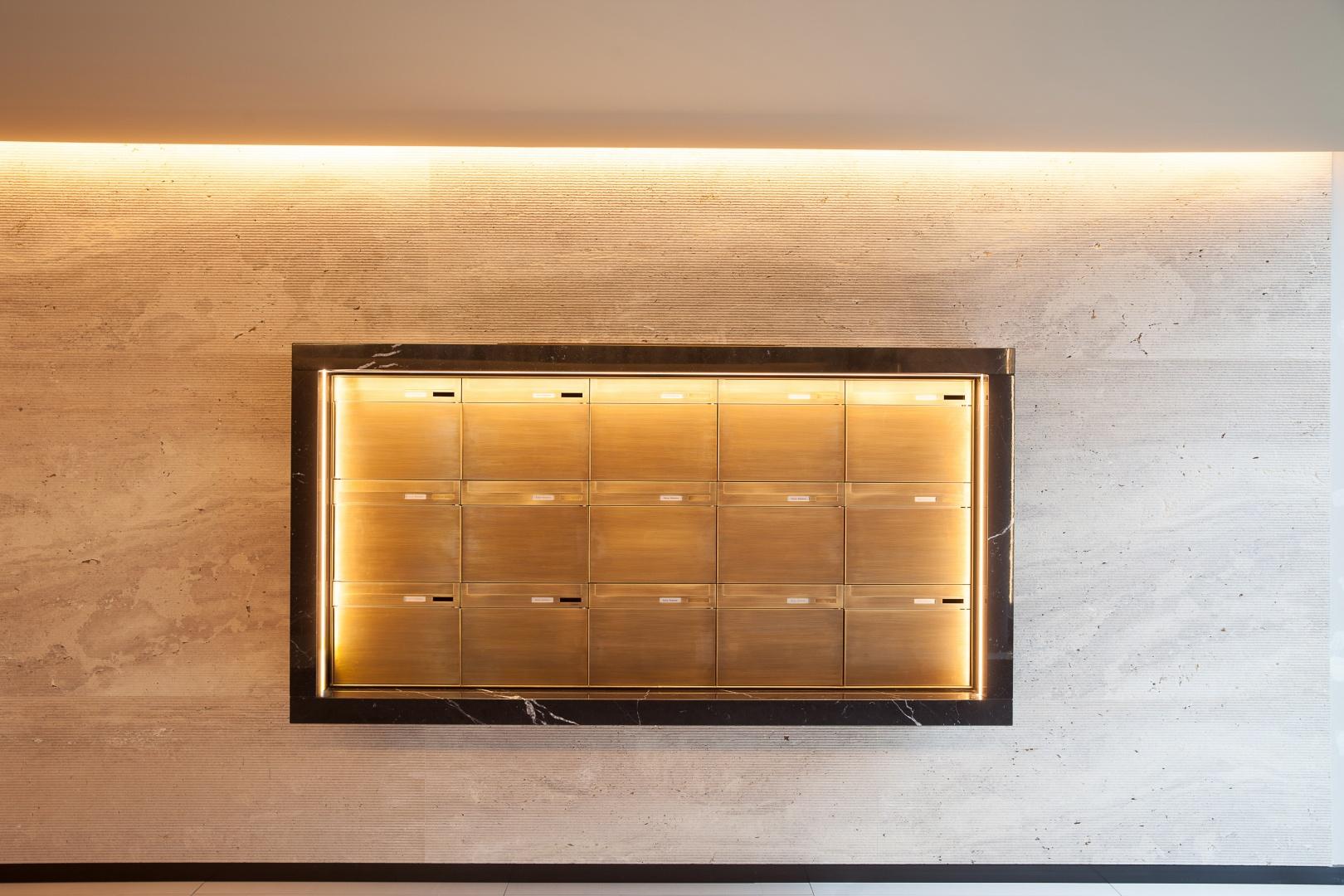 Briefkästen © Kalfopoulos Architekten AG