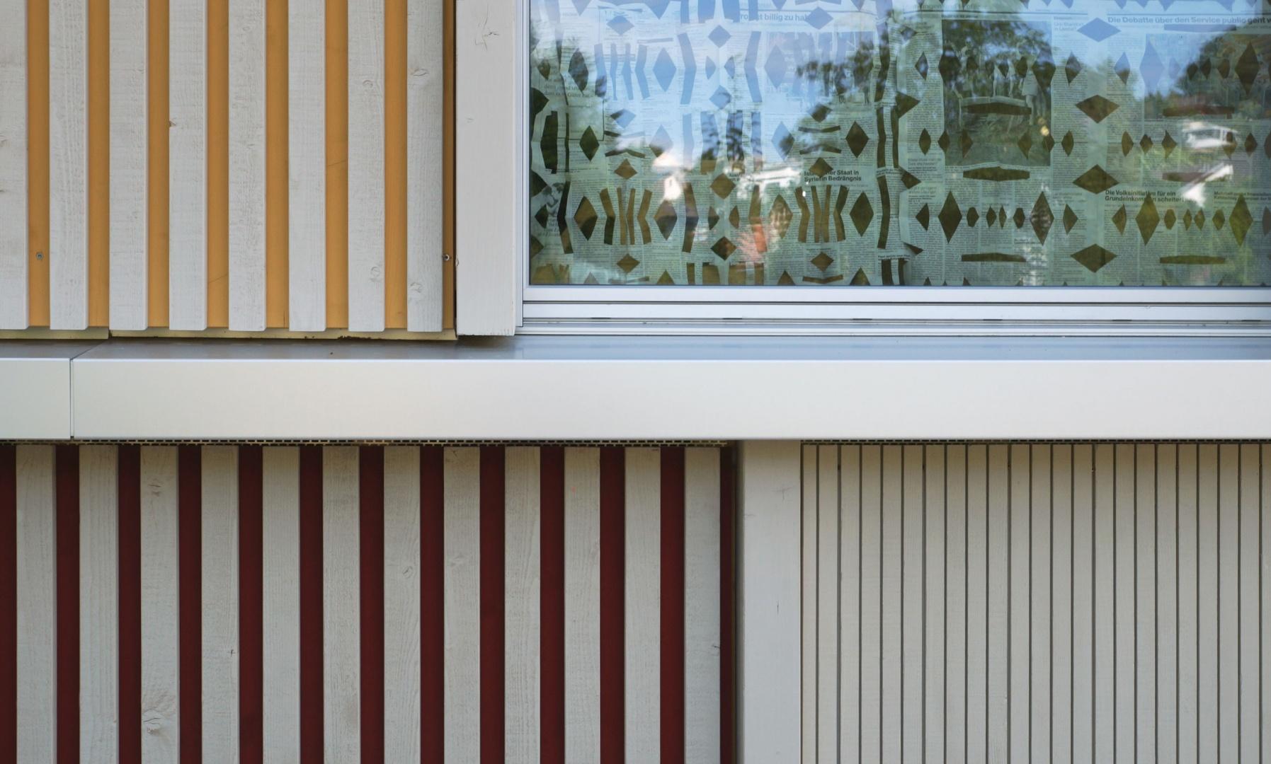 Detail Fassade © Judith Kuoni