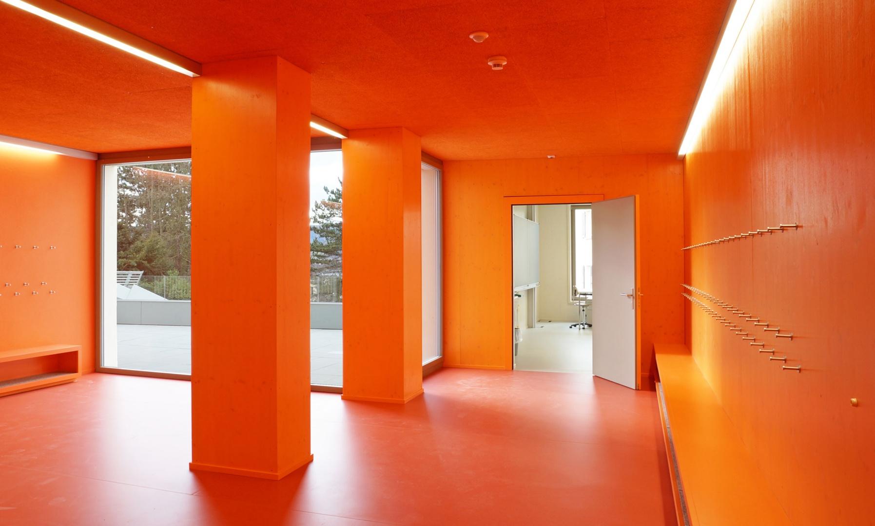 1.OG Korridor © Judith Kuoni