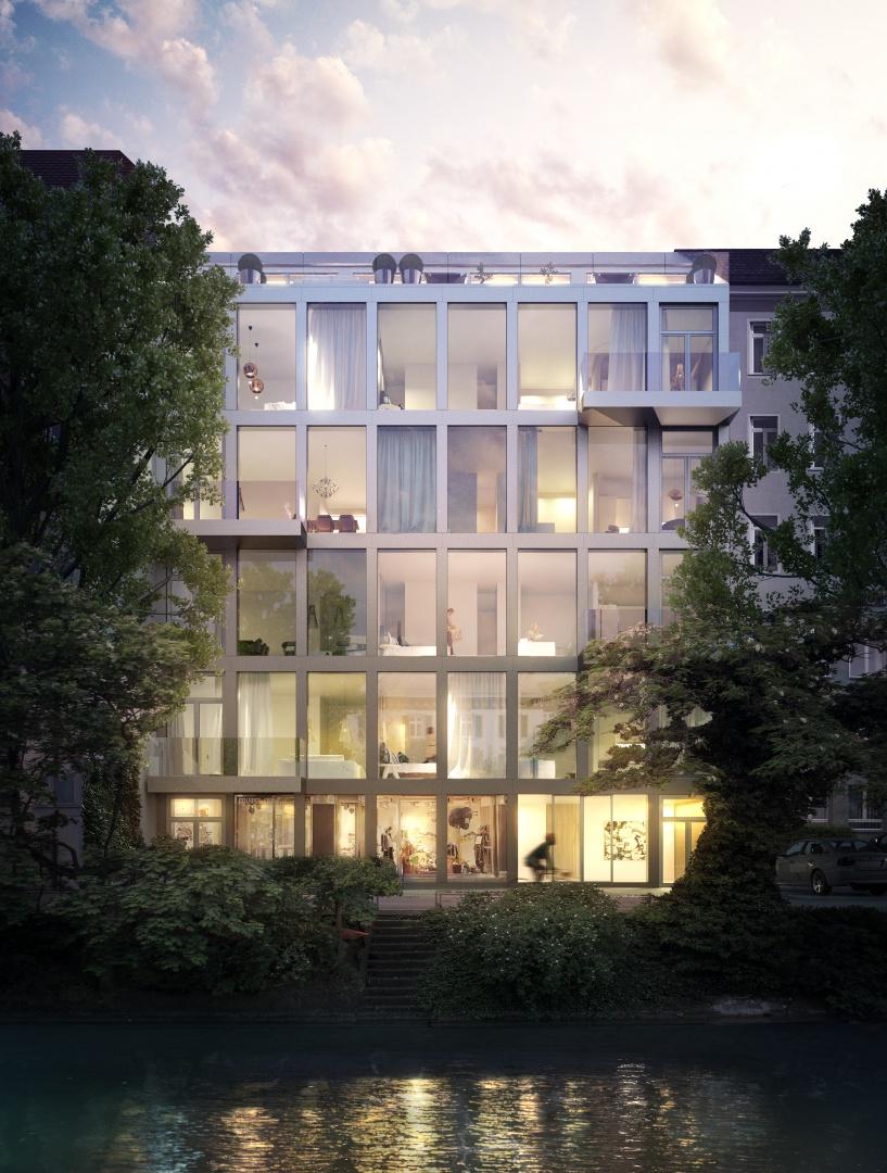 Exterior Rendering © Kalfopoulos Architekten AG