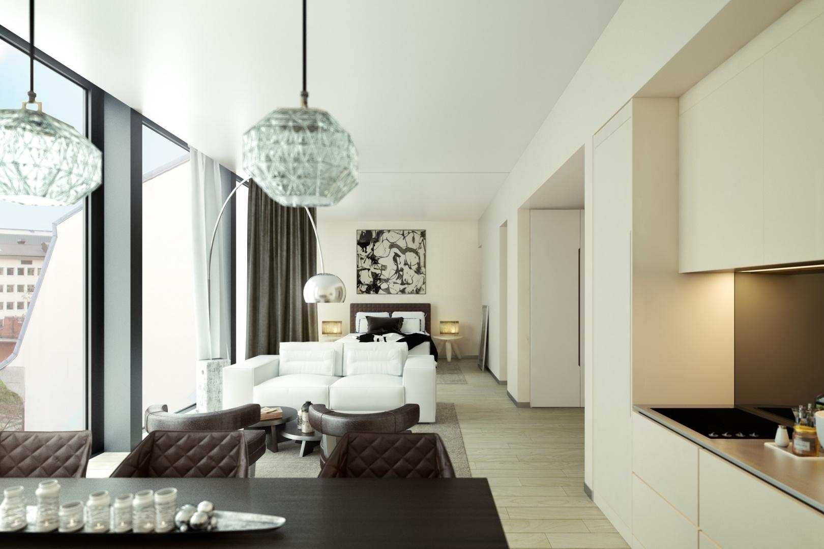 Interior Render A © Kalfopoulos Architekten AG