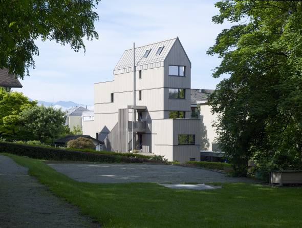 Photo extérieure 2 © Nay Montandon sàrl  Architectes EPFL ETHZ SIA