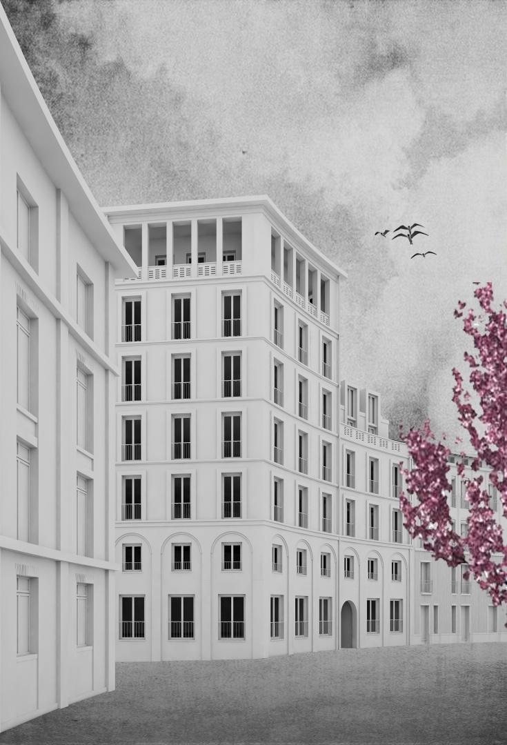 Platzfassade © Selina Putzi