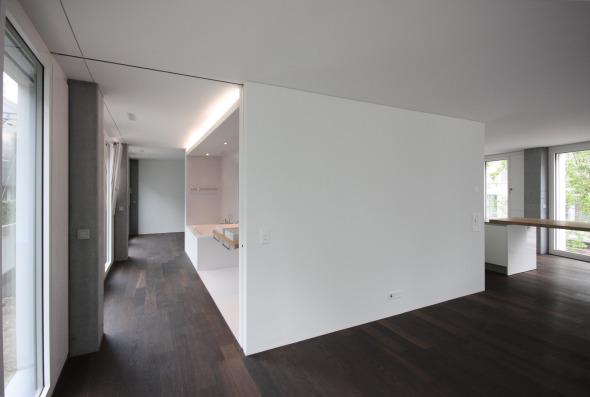 Nasszellenkern offen © Philipp Wieting - Werknetz Architektur