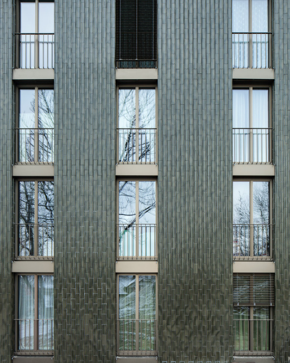 Nahaufnahme Fassade © Foto: Roman Keller