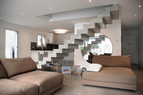 Soggiorno Duplex nord © Foto Atelier Mattei