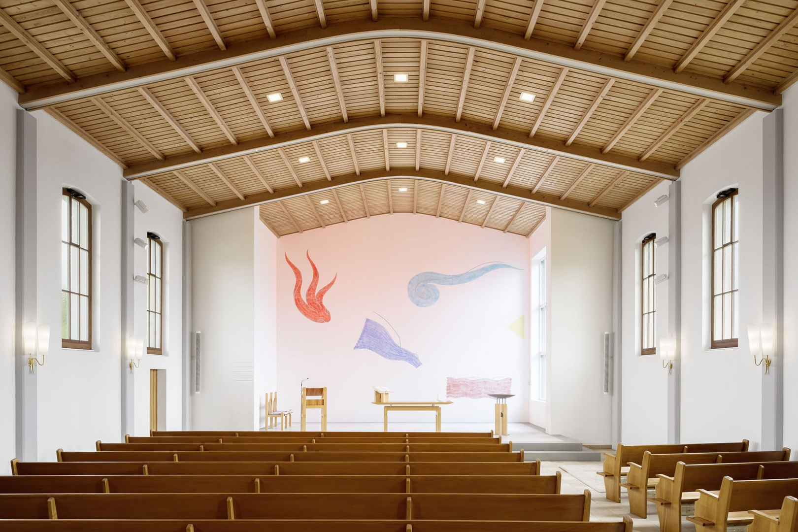 Kirchenschiff © Michael Egloff, michaelegloff.ch