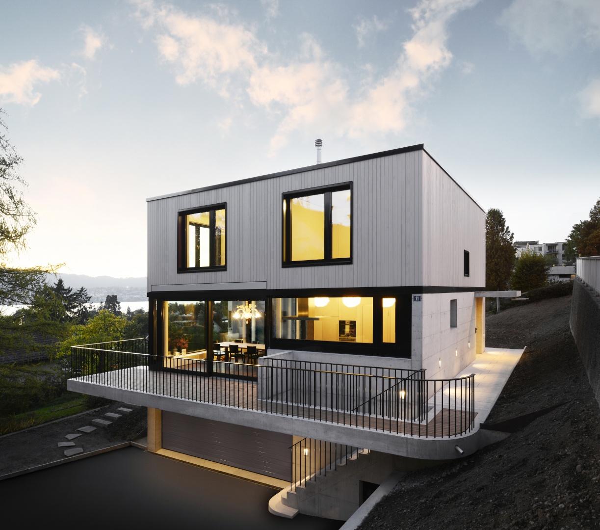 Neubau einfamilienhaus documentation suisse du batiment for Pramierte einfamilienhauser