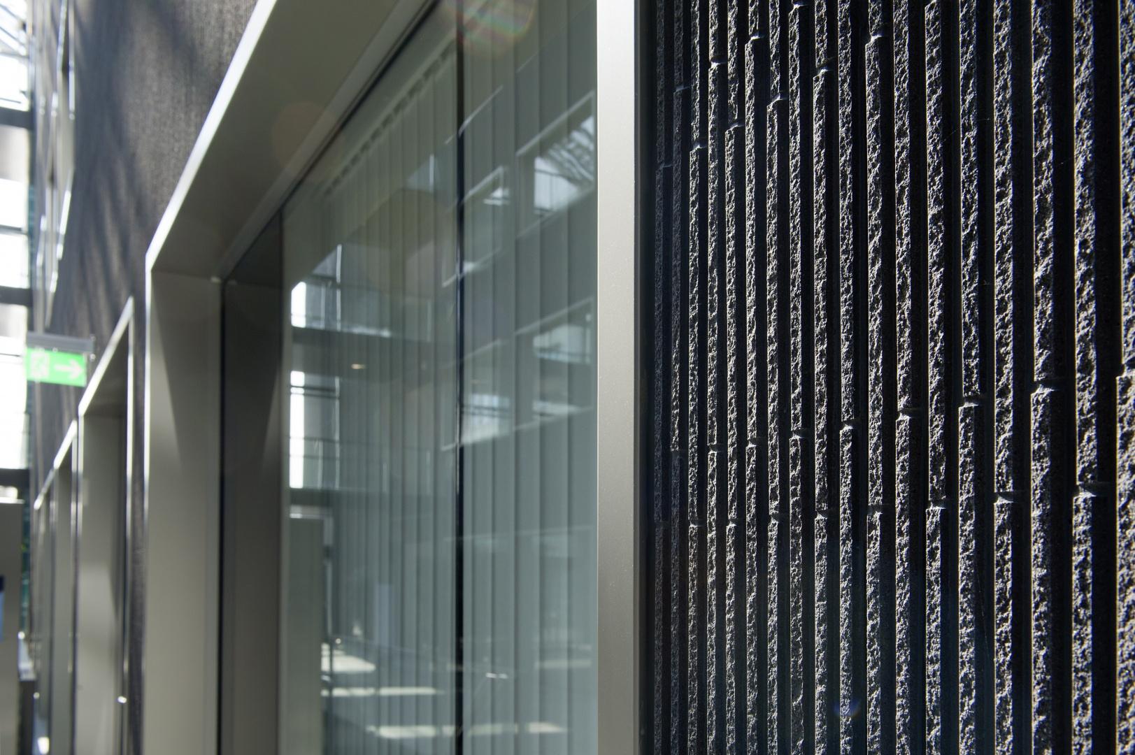Fassadendetail © Schulthess Klinik