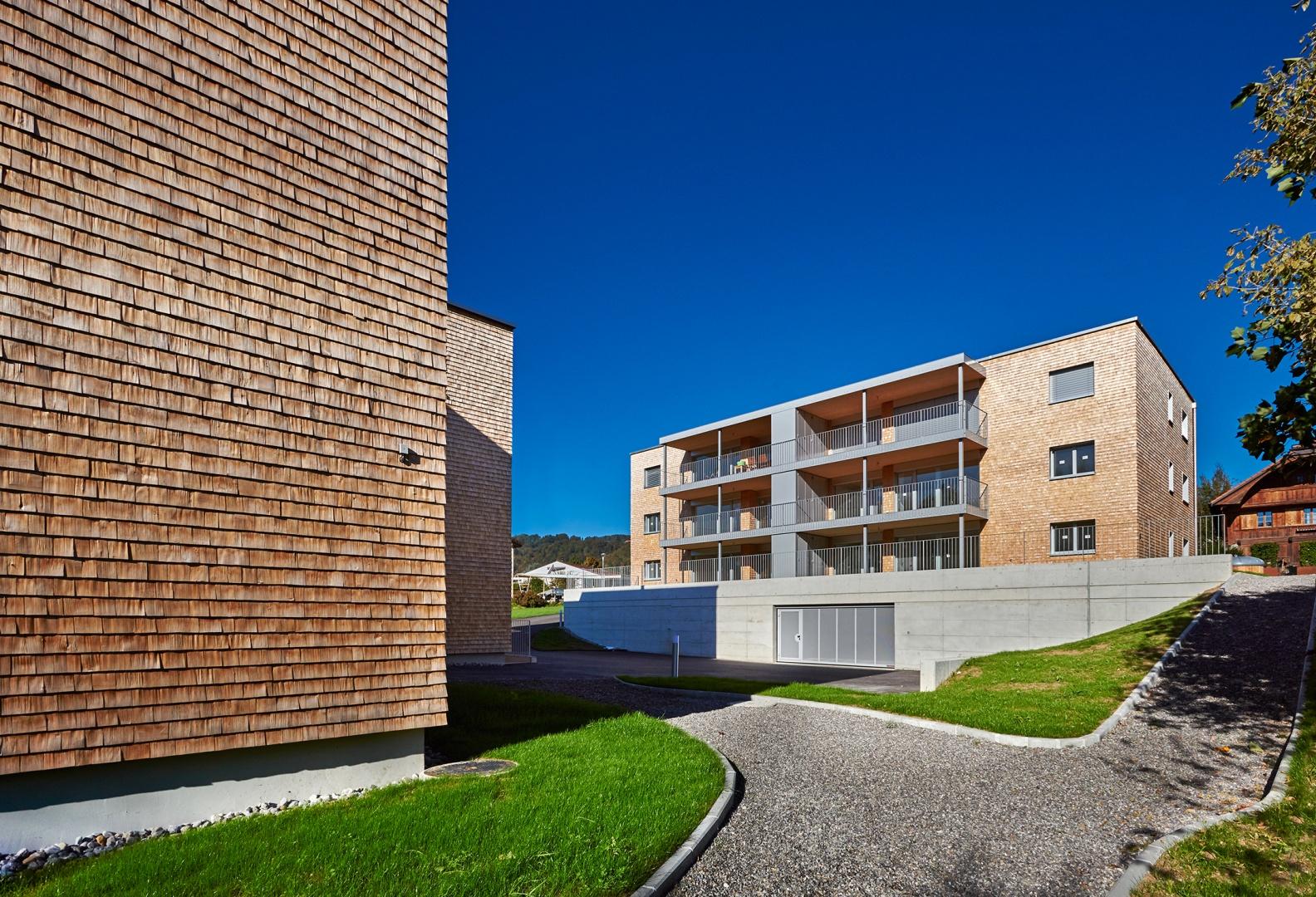 Deux immeubles cologiques minergie p eco documentation for Immeuble ecologique