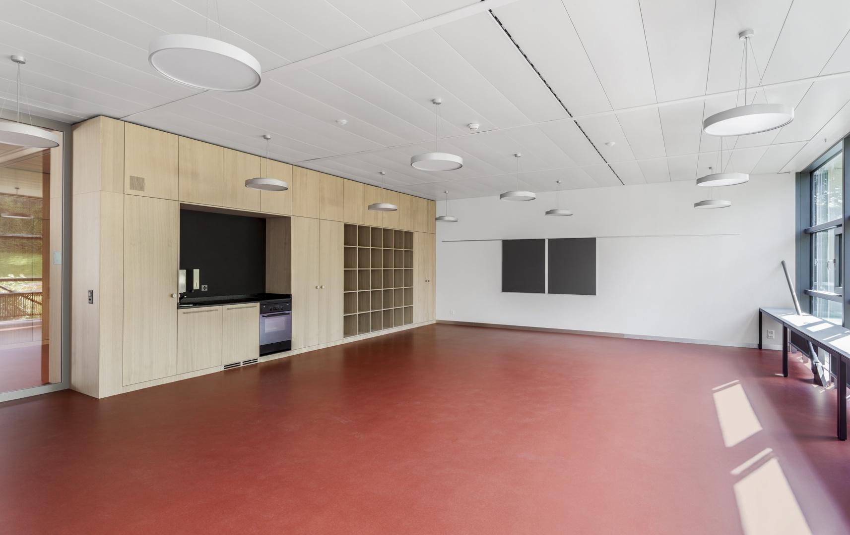 salle d'enseignement © Alexander Gempeler Fotograf SBF SWB Bern
