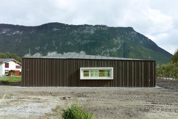 Vue extérieure © Thomas Jantscher