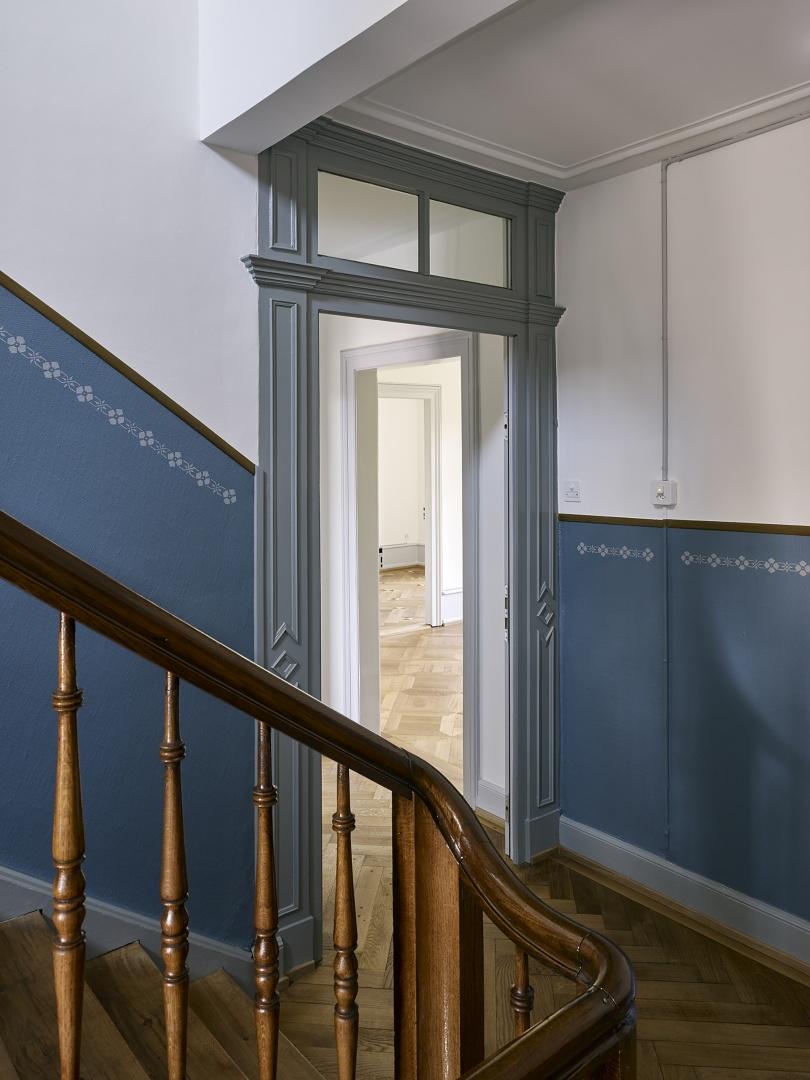 Cage d'escalier © Ariel Huber, Lausanne