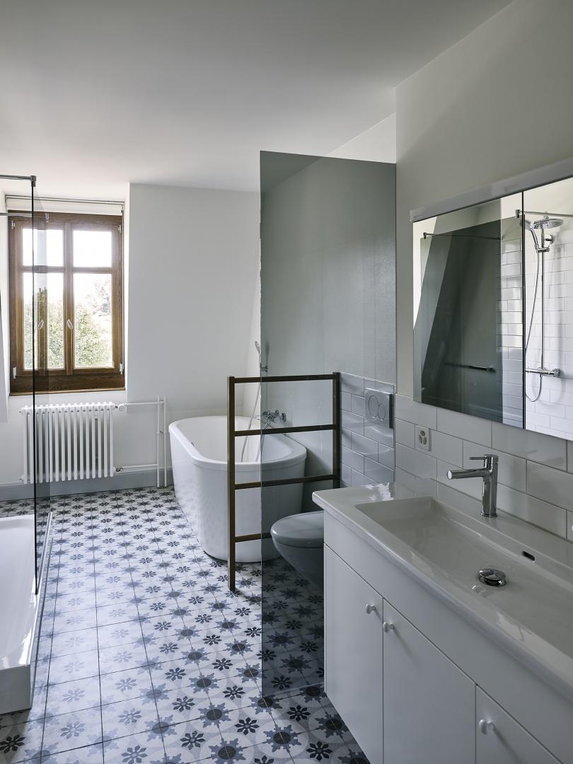 Salle de bains © Ariel Huber, Lausanne