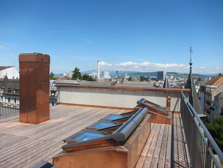 Terrasse de toit © Reichert Architekten, Basel