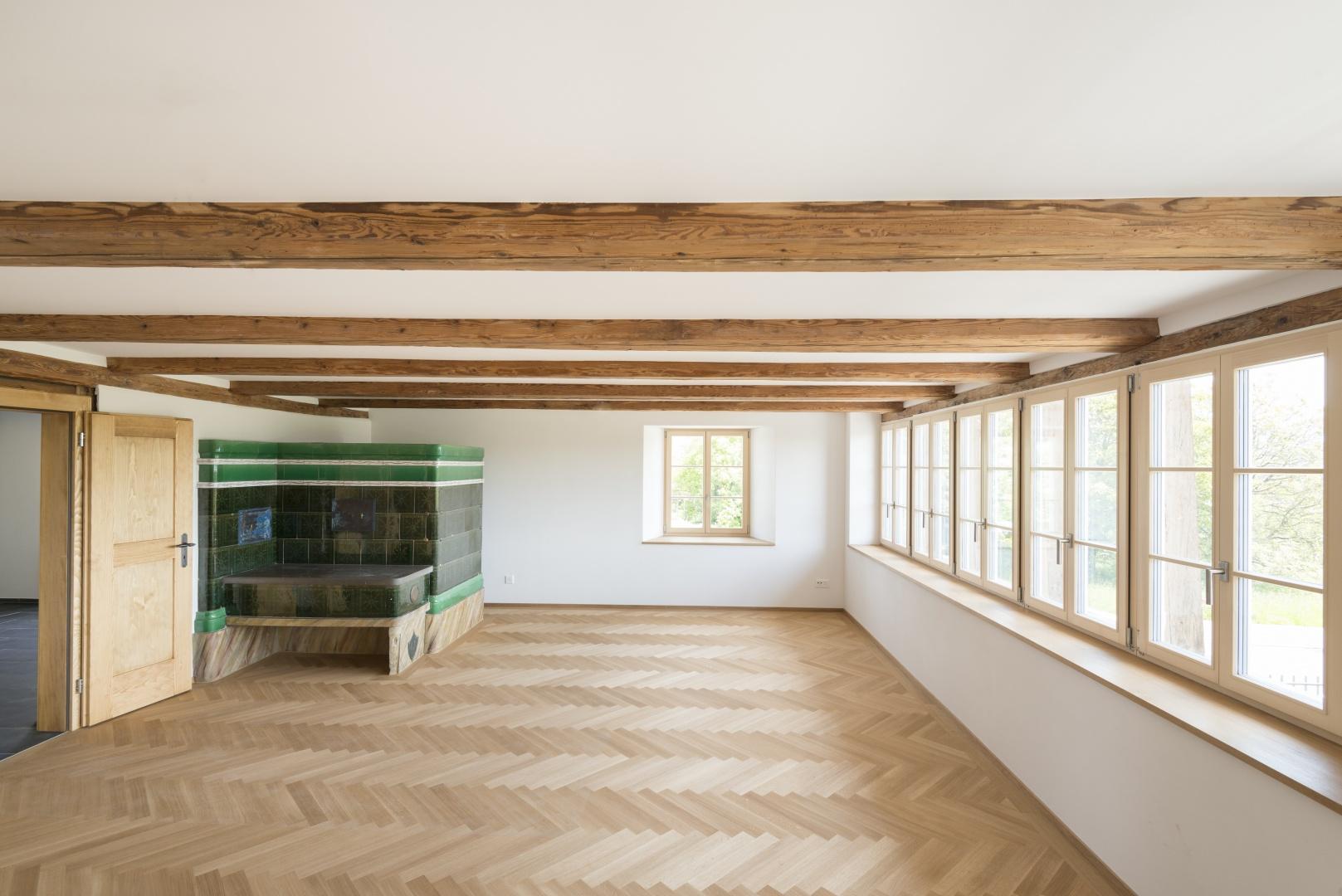 Innenausbau Wohnzimmer © Klaus Hoffmann Fotograf