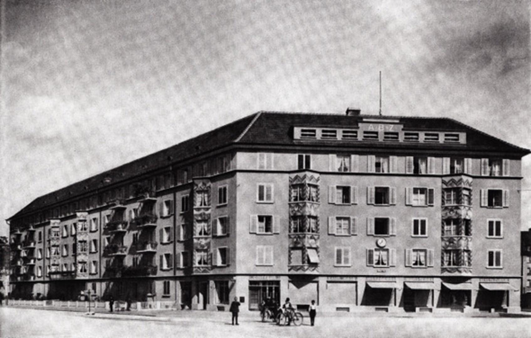 1928 © Rolf Schaffner Architekt