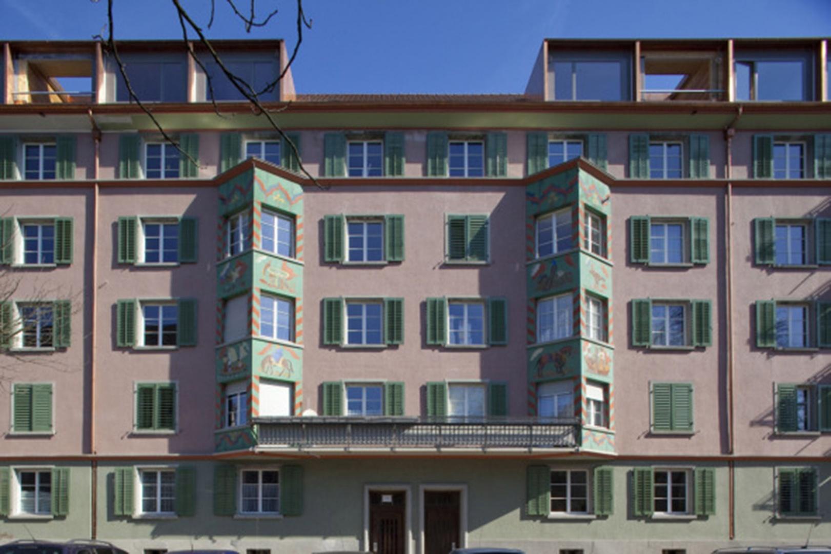 Fassade Denkmalschutz © Rolf Schaffner Architekt