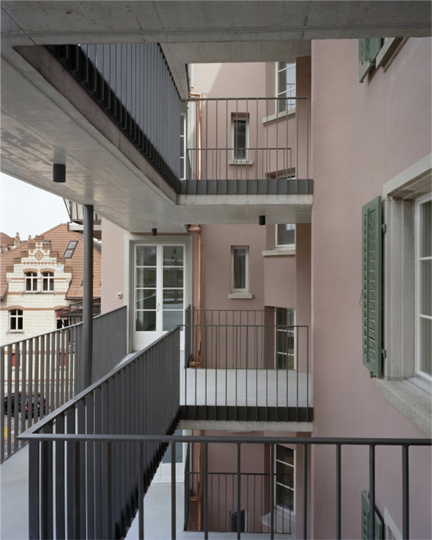 Anbau Lauben © Rolf Schaffner Architekt
