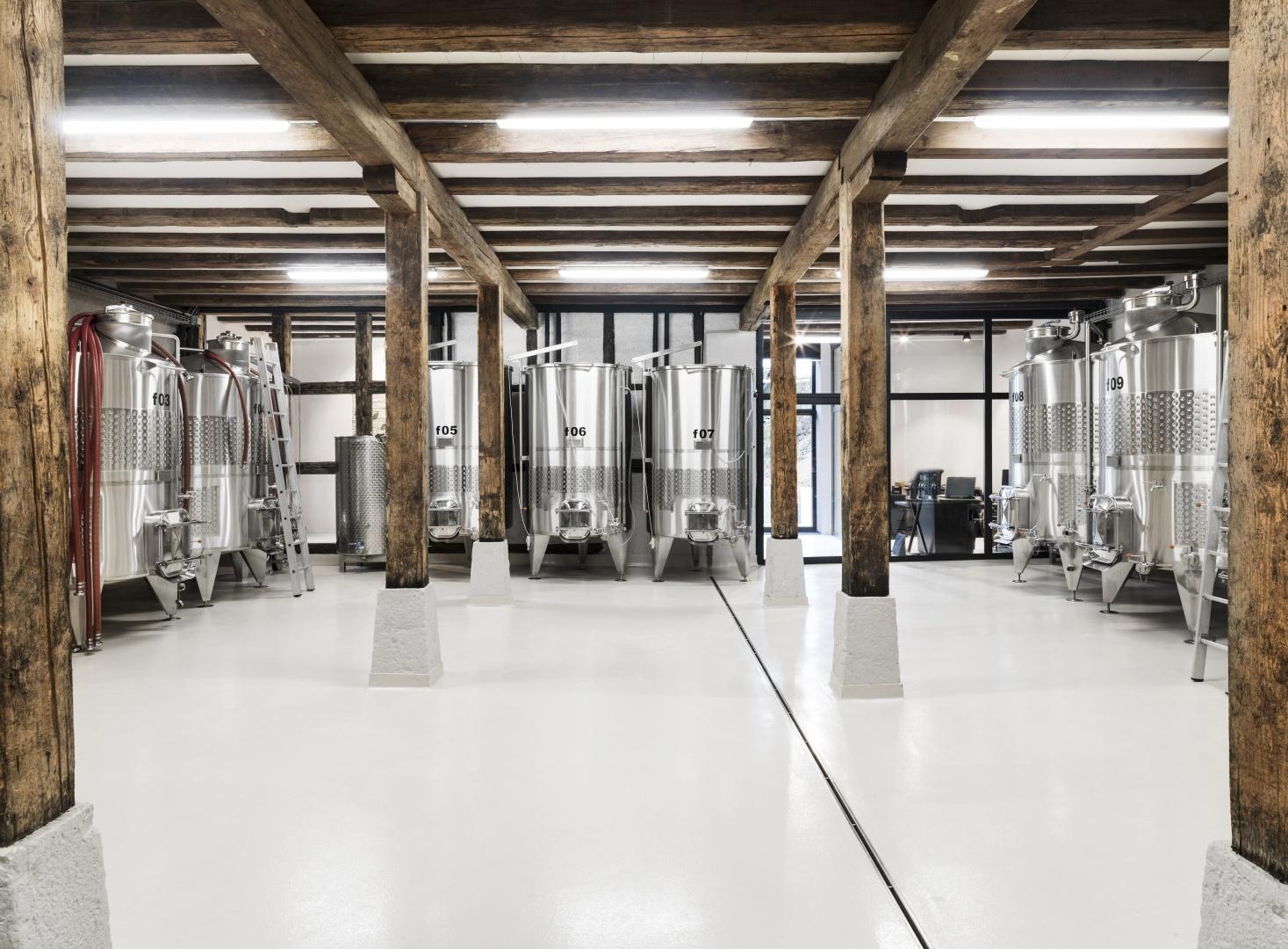 Produktion Erdgeschoss © Andrin Winteler, bürobureau GmbH Ottilienstrasse 17 CH - 8003 Zürich