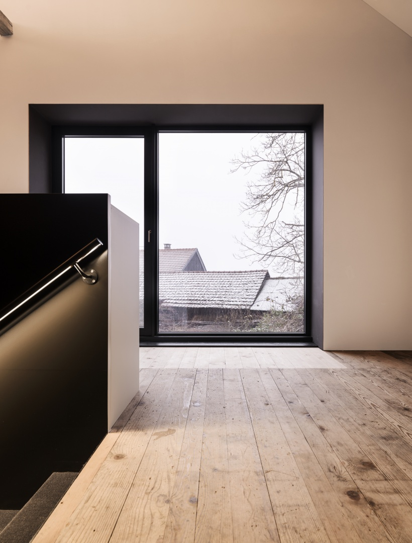 Dachgeschoss © Andrin Winteler, bürobureau GmbH Ottilienstrasse 17 CH - 8003 Zürich