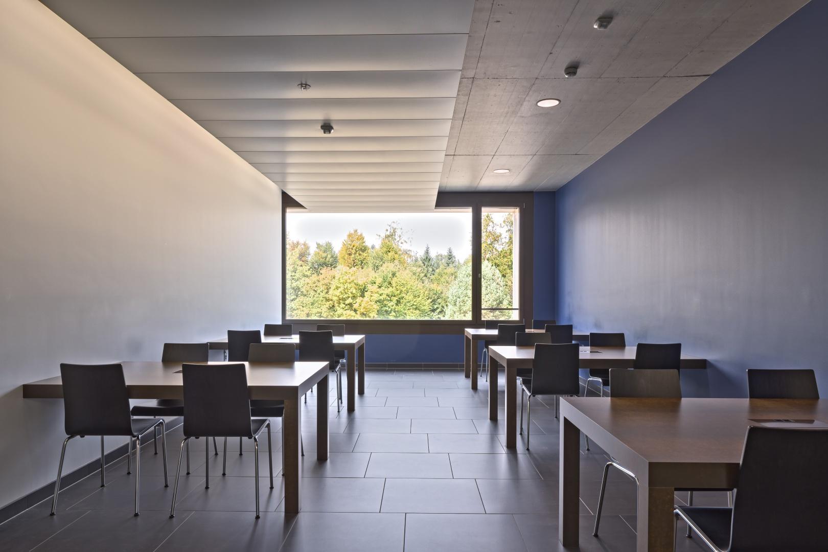 Arbeitsnische Korridor 2. OG © Stefano Schröter, 6003 Luzern