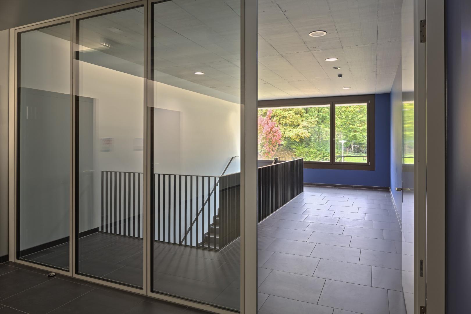 Treppenraum 1. OG © Stefano Schröter, 6003 Luzern