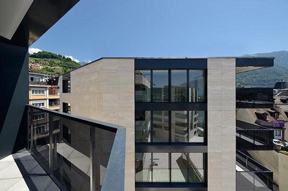 Extérieur vue balcon © Pierre Boss