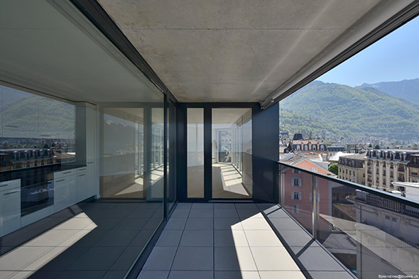 Appartement Balkon © Pierre Boss