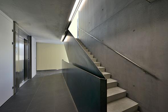 Escalier intérieur © Pierre Boss