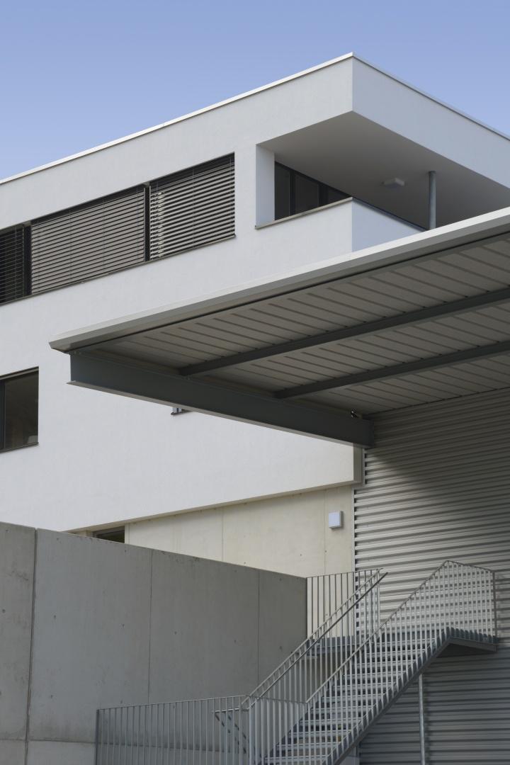 Treppenaufgang Werkhalle © Wyss Architektur + Bauleitung GmbH