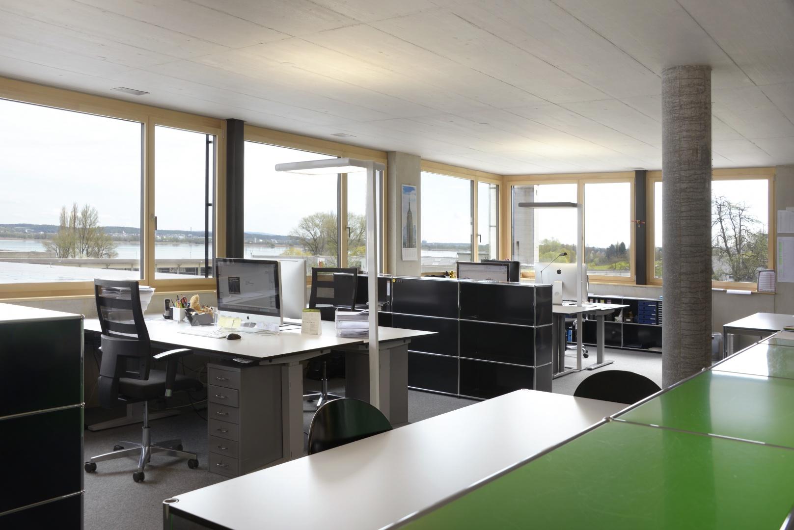 Büro © Wyss Architektur + Bauleitung GmbH