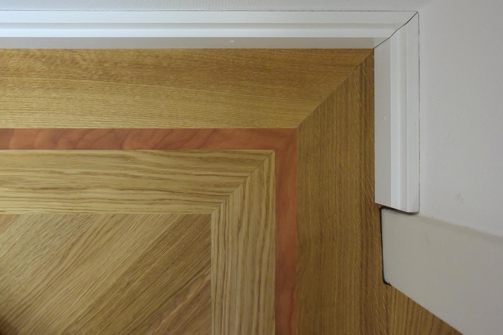Sanierung Bel-Etage - Untersuchung 2 Detail Wandfries © Architekturbüro André Schär