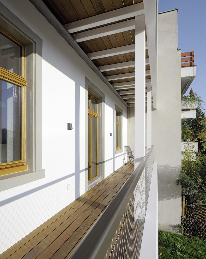 Hofseitige Balkone © Tom Bisig, Basel