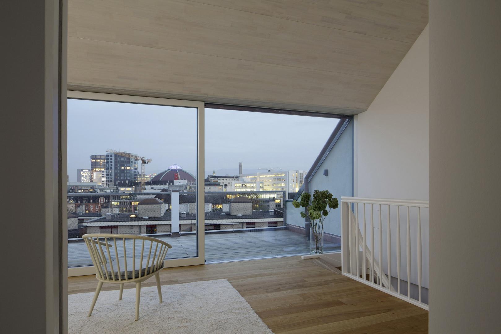 Dachgeschoss © Tom Bisig, Basel